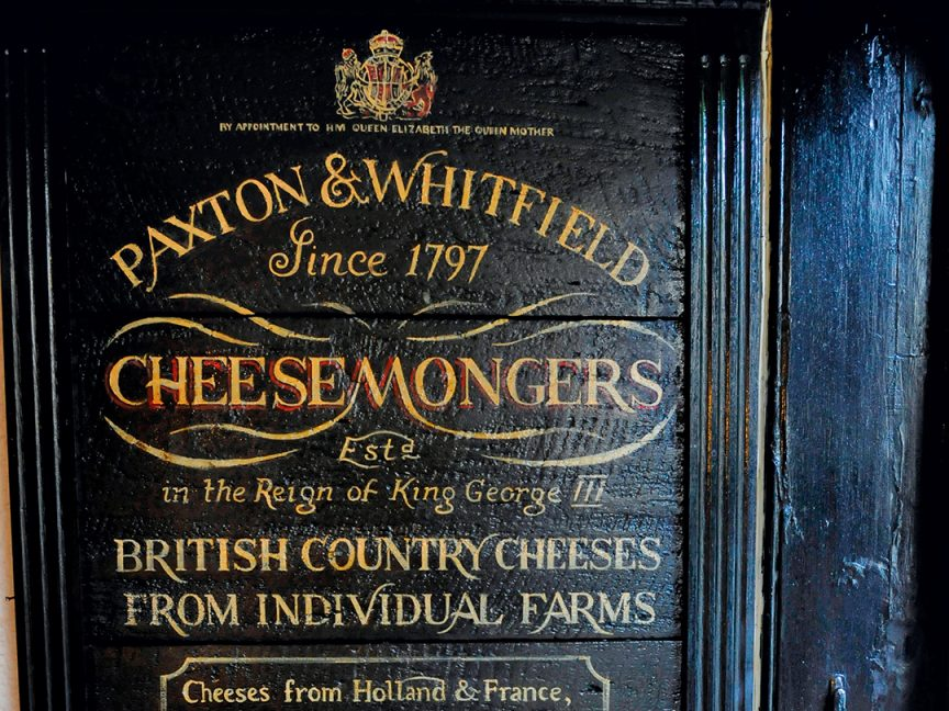 Paxton & Whitfield Cheesemongers