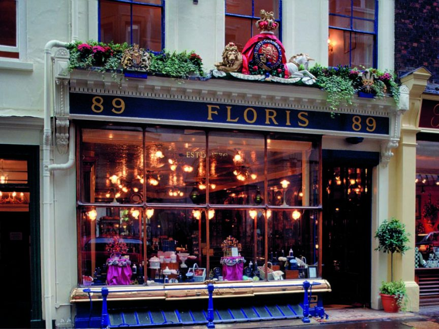 The Exterior And Shop Window Of J. Floris Limited