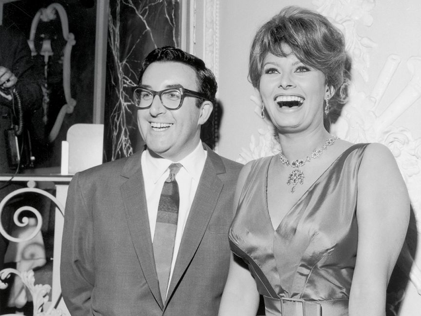 Peter Sellers and Sophia Loren