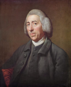 BH26896 Portrait of Lancelot Capability Brown (1716-83) by Dance-Holland, Nathaniel (1734-1811); © Burghley House Collection, Lincolnshire, UK; English, out of copyright